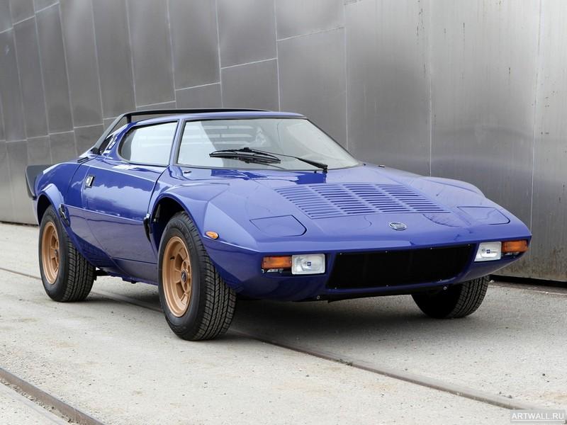 Постер Lancia Stratos HF 1973-75 дизайн Bertone, 27x20 см, на бумагеLancia<br>Постер на холсте или бумаге. Любого нужного вам размера. В раме или без. Подвес в комплекте. Трехслойная надежная упаковка. Доставим в любую точку России. Вам осталось только повесить картину на стену!<br>
