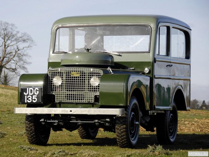 Постер Land Rover Series I 80 Tickford Station Wagon 1948-58, 27x20 см, на бумагеLand Rover<br>Постер на холсте или бумаге. Любого нужного вам размера. В раме или без. Подвес в комплекте. Трехслойная надежная упаковка. Доставим в любую точку России. Вам осталось только повесить картину на стену!<br>