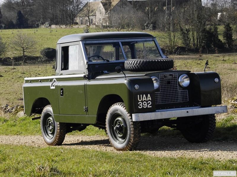 Land Rover Series II 88 Pickup 1958, 27x20 см, на бумагеLand Rover<br>Постер на холсте или бумаге. Любого нужного вам размера. В раме или без. Подвес в комплекте. Трехслойная надежная упаковка. Доставим в любую точку России. Вам осталось только повесить картину на стену!<br>