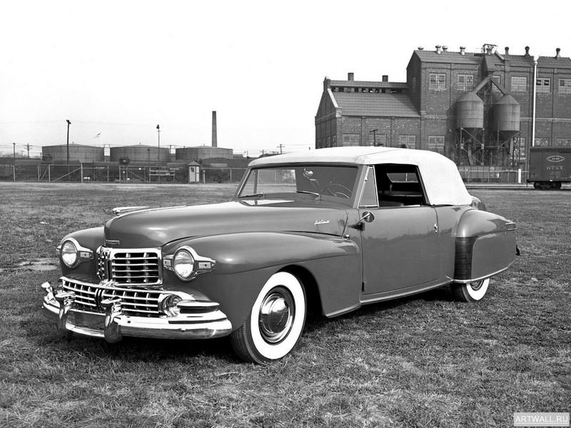 Постер Lincoln Continental Cabriolet 1947-48, 27x20 см, на бумагеLincoln<br>Постер на холсте или бумаге. Любого нужного вам размера. В раме или без. Подвес в комплекте. Трехслойная надежная упаковка. Доставим в любую точку России. Вам осталось только повесить картину на стену!<br>