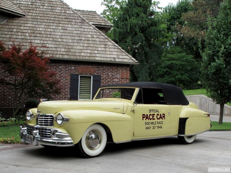 Постер Lincoln Continental Indy Pace Car 1946, 27x20 см, на бумагеLincoln<br>Постер на холсте или бумаге. Любого нужного вам размера. В раме или без. Подвес в комплекте. Трехслойная надежная упаковка. Доставим в любую точку России. Вам осталось только повесить картину на стену!<br>