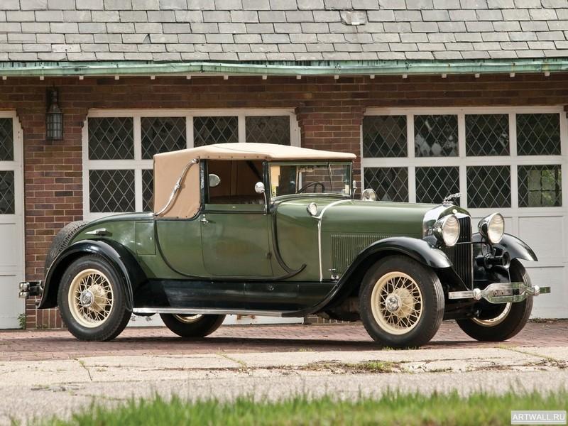 Постер Lincoln Model L Club Roadster by Locke 1928, 27x20 см, на бумагеLincoln<br>Постер на холсте или бумаге. Любого нужного вам размера. В раме или без. Подвес в комплекте. Трехслойная надежная упаковка. Доставим в любую точку России. Вам осталось только повесить картину на стену!<br>