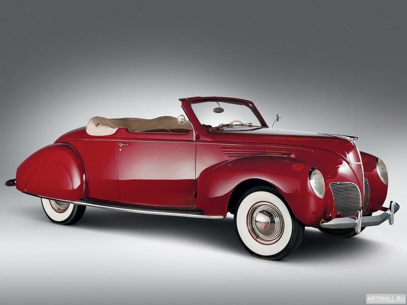Постер Lincoln Zephyr Convertible Coupe 1938, 27x20 см, на бумагеLincoln<br>Постер на холсте или бумаге. Любого нужного вам размера. В раме или без. Подвес в комплекте. Трехслойная надежная упаковка. Доставим в любую точку России. Вам осталось только повесить картину на стену!<br>