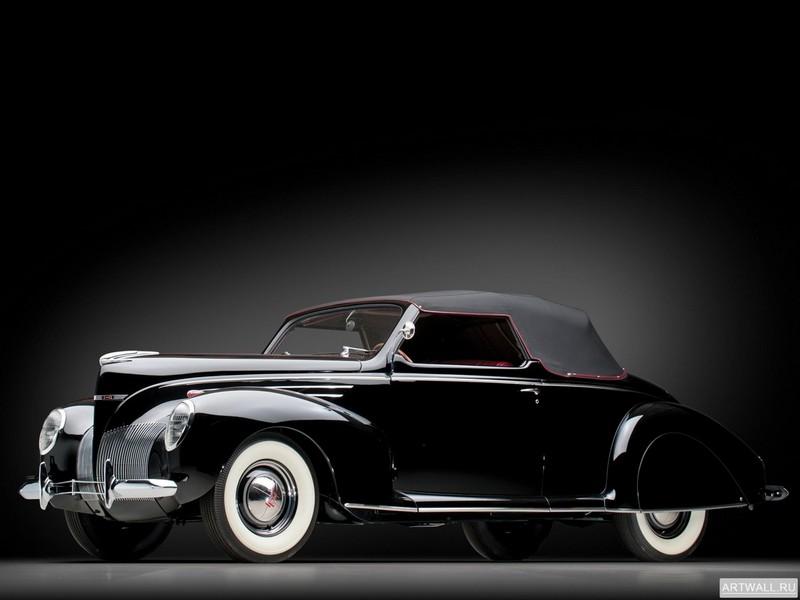 Постер Lincoln Zephyr Convertible Coupe 1939, 27x20 см, на бумагеLincoln<br>Постер на холсте или бумаге. Любого нужного вам размера. В раме или без. Подвес в комплекте. Трехслойная надежная упаковка. Доставим в любую точку России. Вам осталось только повесить картину на стену!<br>