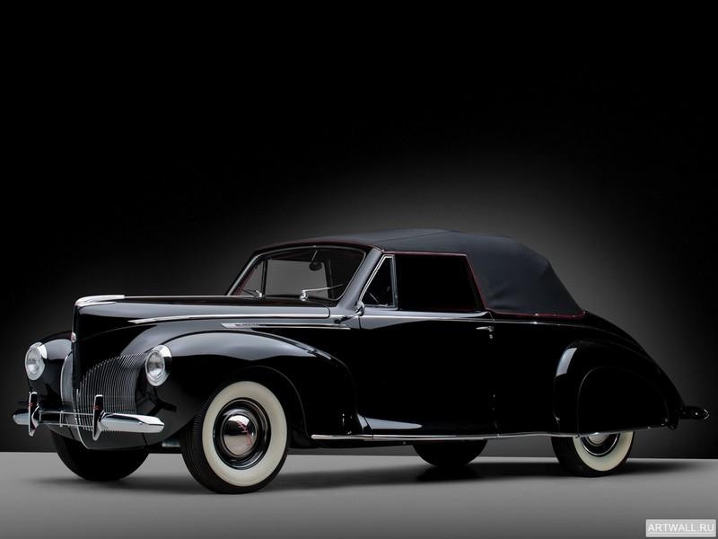Постер Lincoln Zephyr Convertible Coupe 1940, 27x20 см, на бумагеLincoln<br>Постер на холсте или бумаге. Любого нужного вам размера. В раме или без. Подвес в комплекте. Трехслойная надежная упаковка. Доставим в любую точку России. Вам осталось только повесить картину на стену!<br>
