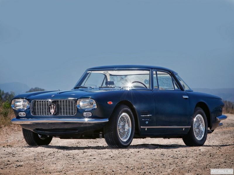 Постер Maserati 5000 GT Frua Coupe 1960-65, 27x20 см, на бумагеMaserati<br>Постер на холсте или бумаге. Любого нужного вам размера. В раме или без. Подвес в комплекте. Трехслойная надежная упаковка. Доставим в любую точку России. Вам осталось только повесить картину на стену!<br>