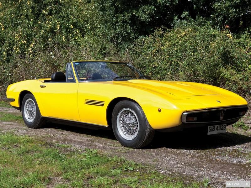 Maserati Ghibli Spider SS 1970-73, 27x20 см, на бумагеMaserati<br>Постер на холсте или бумаге. Любого нужного вам размера. В раме или без. Подвес в комплекте. Трехслойная надежная упаковка. Доставим в любую точку России. Вам осталось только повесить картину на стену!<br>