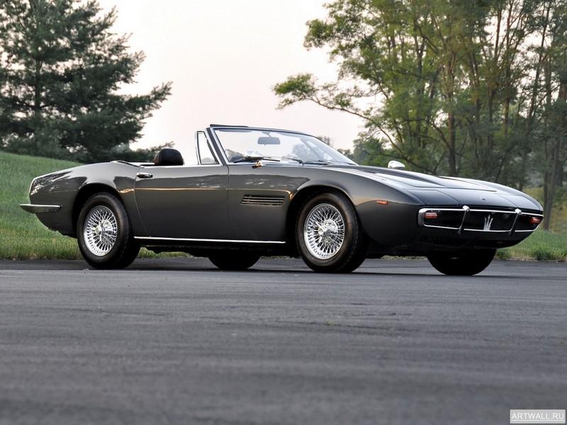 Постер Maserati Ghibli Spyder 1969-73, 27x20 см, на бумагеMaserati<br>Постер на холсте или бумаге. Любого нужного вам размера. В раме или без. Подвес в комплекте. Трехслойная надежная упаковка. Доставим в любую точку России. Вам осталось только повесить картину на стену!<br>