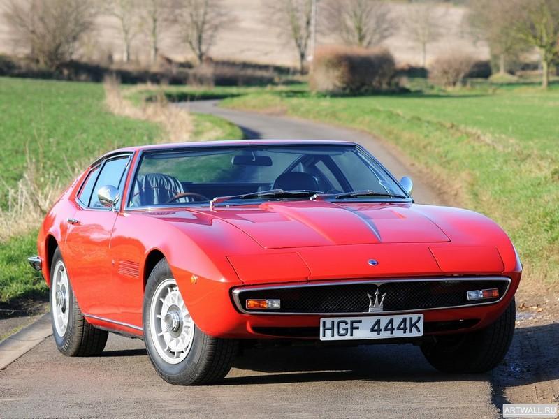 Постер Maserati Ghibli SS 1970-73, 27x20 см, на бумагеMaserati<br>Постер на холсте или бумаге. Любого нужного вам размера. В раме или без. Подвес в комплекте. Трехслойная надежная упаковка. Доставим в любую точку России. Вам осталось только повесить картину на стену!<br>