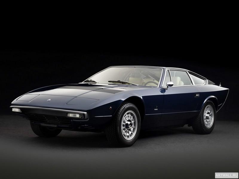 Постер Maserati Khamsin (AM120) 1973-77 дизайн Bertone, 27x20 см, на бумагеMaserati<br>Постер на холсте или бумаге. Любого нужного вам размера. В раме или без. Подвес в комплекте. Трехслойная надежная упаковка. Доставим в любую точку России. Вам осталось только повесить картину на стену!<br>