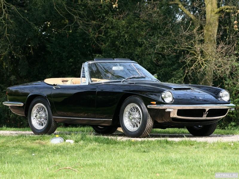 Постер Maserati Mistral Spyder 1963-70, 27x20 см, на бумагеMaserati<br>Постер на холсте или бумаге. Любого нужного вам размера. В раме или без. Подвес в комплекте. Трехслойная надежная упаковка. Доставим в любую точку России. Вам осталось только повесить картину на стену!<br>