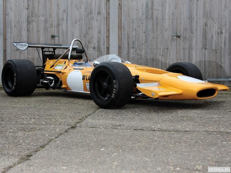 Постер McLaren M6 GT 1970, 27x20 см, на бумагеMcLaren<br>Постер на холсте или бумаге. Любого нужного вам размера. В раме или без. Подвес в комплекте. Трехслойная надежная упаковка. Доставим в любую точку России. Вам осталось только повесить картину на стену!<br>