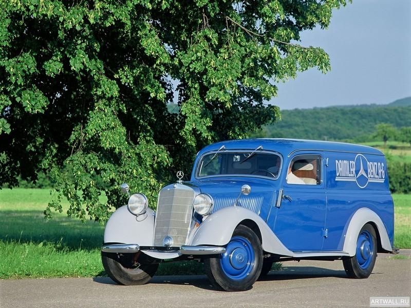 Постер Mercedes-Benz 170V Panel Van (W136) 1947, 27x20 см, на бумагеMercedes-Benz<br>Постер на холсте или бумаге. Любого нужного вам размера. В раме или без. Подвес в комплекте. Трехслойная надежная упаковка. Доставим в любую точку России. Вам осталось только повесить картину на стену!<br>