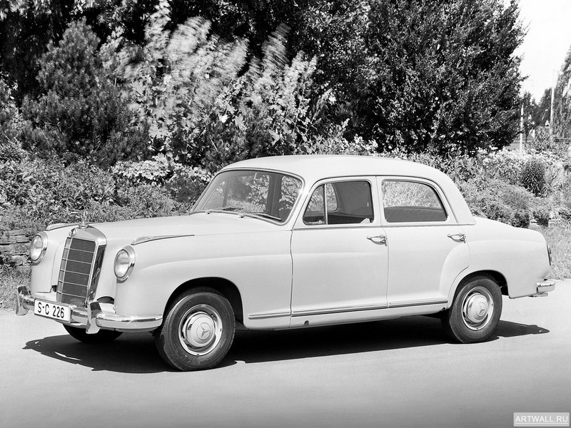 Постер Mercedes-Benz 219 (W105) 1956-59, 27x20 см, на бумагеMercedes-Benz<br>Постер на холсте или бумаге. Любого нужного вам размера. В раме или без. Подвес в комплекте. Трехслойная надежная упаковка. Доставим в любую точку России. Вам осталось только повесить картину на стену!<br>
