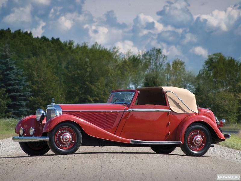 Постер Mercedes-Benz 500K Drophead Coupe by Corsica 1936, 27x20 см, на бумагеMercedes-Benz<br>Постер на холсте или бумаге. Любого нужного вам размера. В раме или без. Подвес в комплекте. Трехслойная надежная упаковка. Доставим в любую точку России. Вам осталось только повесить картину на стену!<br>