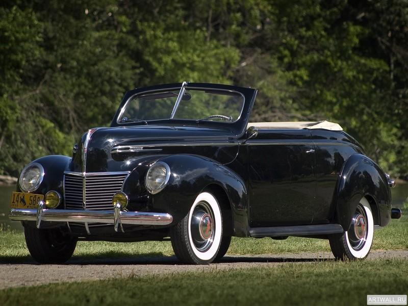 Mercury Convertible Club Coupe (99A) 1939, 27x20 см, на бумагеMercury<br>Постер на холсте или бумаге. Любого нужного вам размера. В раме или без. Подвес в комплекте. Трехслойная надежная упаковка. Доставим в любую точку России. Вам осталось только повесить картину на стену!<br>