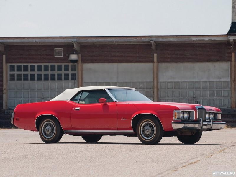 Постер Mercury Cougar 1973, 27x20 см, на бумагеMercury<br>Постер на холсте или бумаге. Любого нужного вам размера. В раме или без. Подвес в комплекте. Трехслойная надежная упаковка. Доставим в любую точку России. Вам осталось только повесить картину на стену!<br>