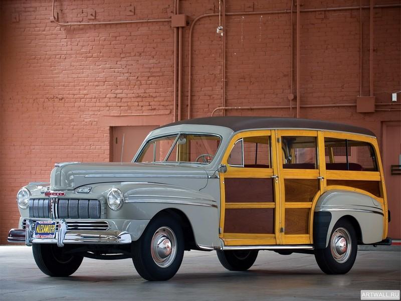 Постер Mercury Station Wagon 1946, 27x20 см, на бумагеMercury<br>Постер на холсте или бумаге. Любого нужного вам размера. В раме или без. Подвес в комплекте. Трехслойная надежная упаковка. Доставим в любую точку России. Вам осталось только повесить картину на стену!<br>