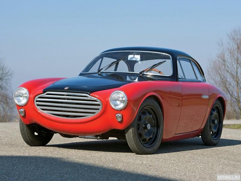 Постер Moretti 750 Gran Sport Berlinetta by Michelotti 1953, 27x20 см, на бумагеРазные марки<br>Постер на холсте или бумаге. Любого нужного вам размера. В раме или без. Подвес в комплекте. Трехслойная надежная упаковка. Доставим в любую точку России. Вам осталось только повесить картину на стену!<br>