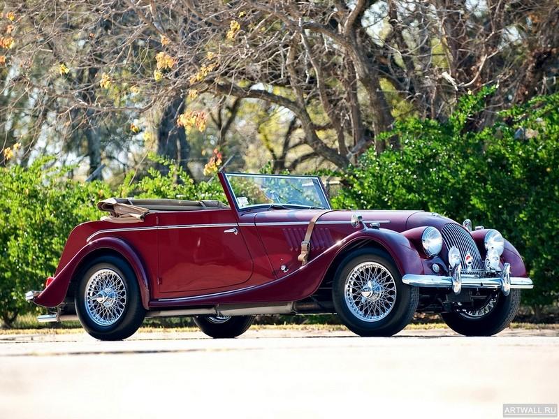 Постер Morgan Plus 4 Drophead Coupe 1954-69, 27x20 см, на бумагеMorgan<br>Постер на холсте или бумаге. Любого нужного вам размера. В раме или без. Подвес в комплекте. Трехслойная надежная упаковка. Доставим в любую точку России. Вам осталось только повесить картину на стену!<br>