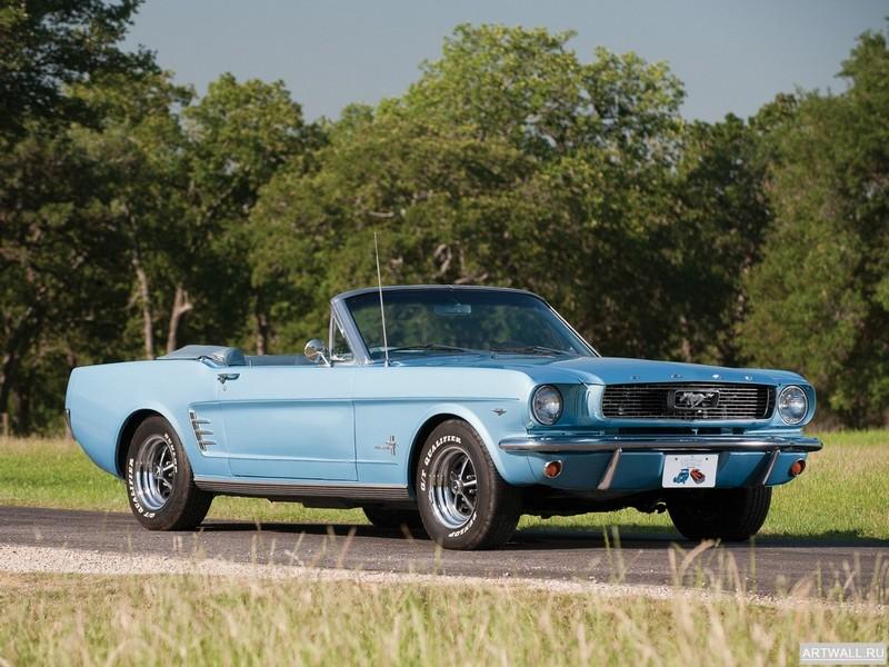 Постер Mustang Convertible 1966, 27x20 см, на бумагеMustang<br>Постер на холсте или бумаге. Любого нужного вам размера. В раме или без. Подвес в комплекте. Трехслойная надежная упаковка. Доставим в любую точку России. Вам осталось только повесить картину на стену!<br>