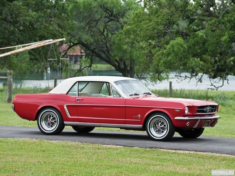 Постер Mustang Coupe 1964, 27x20 см, на бумагеMustang<br>Постер на холсте или бумаге. Любого нужного вам размера. В раме или без. Подвес в комплекте. Трехслойная надежная упаковка. Доставим в любую точку России. Вам осталось только повесить картину на стену!<br>