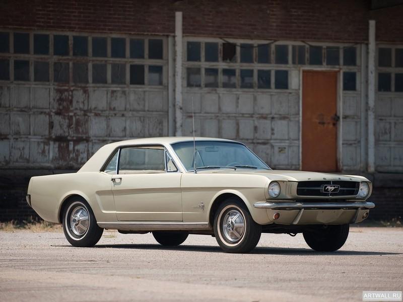 Постер Mustang Coupe 1965, 27x20 см, на бумагеMustang<br>Постер на холсте или бумаге. Любого нужного вам размера. В раме или без. Подвес в комплекте. Трехслойная надежная упаковка. Доставим в любую точку России. Вам осталось только повесить картину на стену!<br>