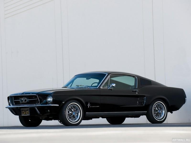 Постер Mustang Fastback 1967, 27x20 см, на бумагеMustang<br>Постер на холсте или бумаге. Любого нужного вам размера. В раме или без. Подвес в комплекте. Трехслойная надежная упаковка. Доставим в любую точку России. Вам осталось только повесить картину на стену!<br>