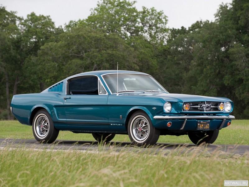 Постер Mustang GT Fastback 1965, 27x20 см, на бумагеMustang<br>Постер на холсте или бумаге. Любого нужного вам размера. В раме или без. Подвес в комплекте. Трехслойная надежная упаковка. Доставим в любую точку России. Вам осталось только повесить картину на стену!<br>