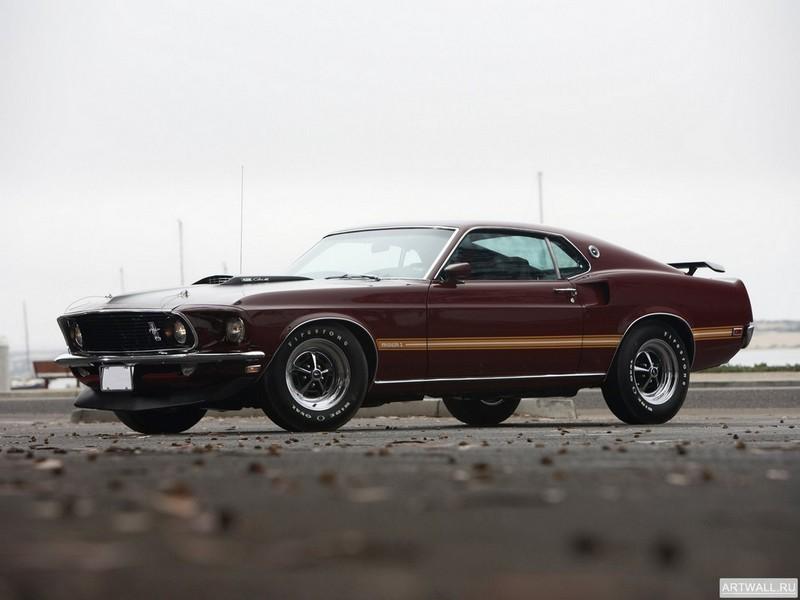 Постер Mustang Mach 1 1969, 27x20 см, на бумагеMustang<br>Постер на холсте или бумаге. Любого нужного вам размера. В раме или без. Подвес в комплекте. Трехслойная надежная упаковка. Доставим в любую точку России. Вам осталось только повесить картину на стену!<br>
