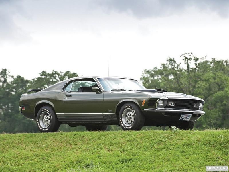 Постер Mustang Mach 1 1970, 27x20 см, на бумагеMustang<br>Постер на холсте или бумаге. Любого нужного вам размера. В раме или без. Подвес в комплекте. Трехслойная надежная упаковка. Доставим в любую точку России. Вам осталось только повесить картину на стену!<br>