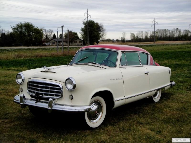 Постер Nash-Healey Le Mans Coupe 1953-54 дизайн Pininfarina, 27x20 см, на бумагеNash<br>Постер на холсте или бумаге. Любого нужного вам размера. В раме или без. Подвес в комплекте. Трехслойная надежная упаковка. Доставим в любую точку России. Вам осталось только повесить картину на стену!<br>