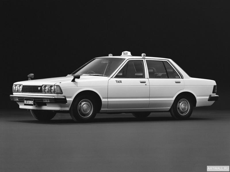 Постер Nissan Bluebird Sedan Taxi (910) 1979-83, 27x20 см, на бумагеNissan<br>Постер на холсте или бумаге. Любого нужного вам размера. В раме или без. Подвес в комплекте. Трехслойная надежная упаковка. Доставим в любую точку России. Вам осталось только повесить картину на стену!<br>