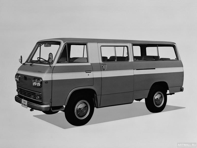 Постер Nissan Caball Microbus (KC142) 1966-76, 27x20 см, на бумагеNissan<br>Постер на холсте или бумаге. Любого нужного вам размера. В раме или без. Подвес в комплекте. Трехслойная надежная упаковка. Доставим в любую точку России. Вам осталось только повесить картину на стену!<br>