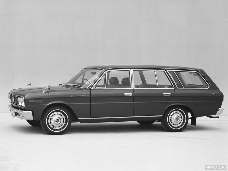 Постер Nissan Cedric Wagon (WP130S) 1968-71, 27x20 см, на бумагеNissan<br>Постер на холсте или бумаге. Любого нужного вам размера. В раме или без. Подвес в комплекте. Трехслойная надежная упаковка. Доставим в любую точку России. Вам осталось только повесить картину на стену!<br>