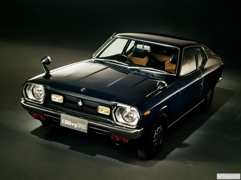 Постер Nissan Cherry F-II Coupe (F10) 1974-78, 27x20 см, на бумагеNissan<br>Постер на холсте или бумаге. Любого нужного вам размера. В раме или без. Подвес в комплекте. Трехслойная надежная упаковка. Доставим в любую точку России. Вам осталось только повесить картину на стену!<br>