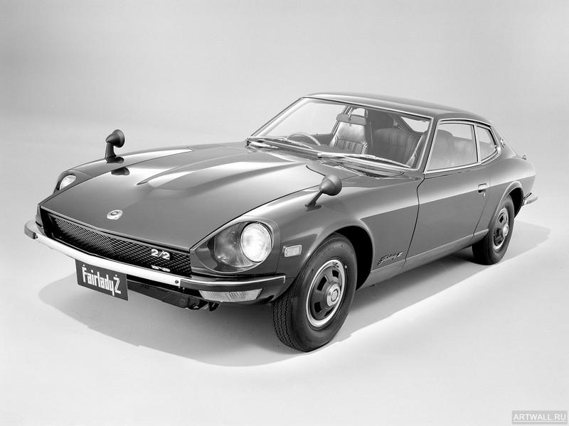 Постер Nissan Fairlady 240Z-G (HS30) 1971-73, 27x20 см, на бумагеNissan<br>Постер на холсте или бумаге. Любого нужного вам размера. В раме или без. Подвес в комплекте. Трехслойная надежная упаковка. Доставим в любую точку России. Вам осталось только повесить картину на стену!<br>