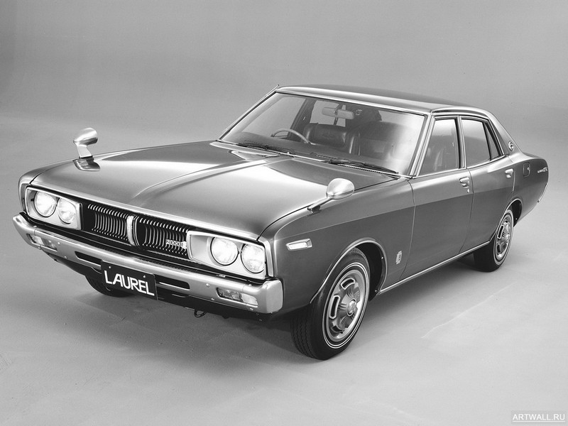 Постер Nissan Laurel Sedan (C130) 1974-77, 27x20 см, на бумагеNissan<br>Постер на холсте или бумаге. Любого нужного вам размера. В раме или без. Подвес в комплекте. Трехслойная надежная упаковка. Доставим в любую точку России. Вам осталось только повесить картину на стену!<br>