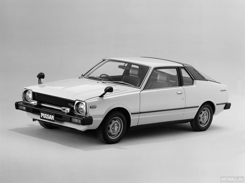 Постер Nissan Pulsar Coupe (N10) 1978-80, 27x20 см, на бумагеNissan<br>Постер на холсте или бумаге. Любого нужного вам размера. В раме или без. Подвес в комплекте. Трехслойная надежная упаковка. Доставим в любую точку России. Вам осталось только повесить картину на стену!<br>