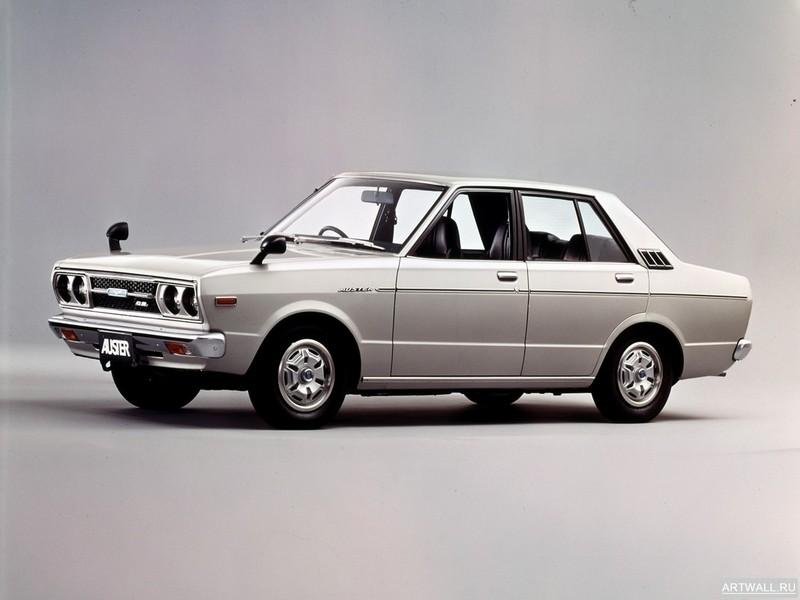 Постер Nissan Violet Auster Sedan (A10) 1977-81, 27x20 см, на бумагеNissan<br>Постер на холсте или бумаге. Любого нужного вам размера. В раме или без. Подвес в комплекте. Трехслойная надежная упаковка. Доставим в любую точку России. Вам осталось только повесить картину на стену!<br>