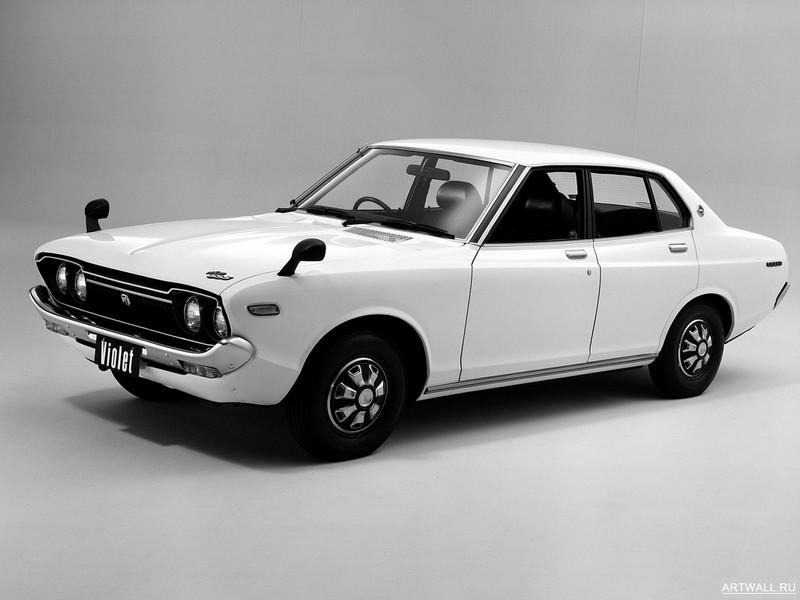 Постер Nissan Violet SSS Sedan (711) 1976-77, 27x20 см, на бумагеNissan<br>Постер на холсте или бумаге. Любого нужного вам размера. В раме или без. Подвес в комплекте. Трехслойная надежная упаковка. Доставим в любую точку России. Вам осталось только повесить картину на стену!<br>