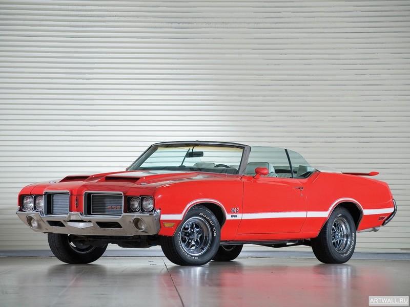 Oldsmobile Cutlass 442 Holiday Coupe (3817) 1966 Произведено 21997 единиц, 27x20 см, на бумагеOldsmobile<br>Постер на холсте или бумаге. Любого нужного вам размера. В раме или без. Подвес в комплекте. Трехслойная надежная упаковка. Доставим в любую точку России. Вам осталось только повесить картину на стену!<br>