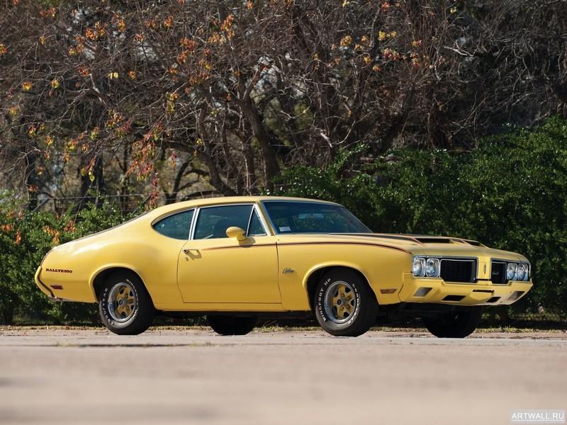 Постер Oldsmobile Cutlass 442 L75 Convertible 1972, 27x20 см, на бумагеOldsmobile<br>Постер на холсте или бумаге. Любого нужного вам размера. В раме или без. Подвес в комплекте. Трехслойная надежная упаковка. Доставим в любую точку России. Вам осталось только повесить картину на стену!<br>
