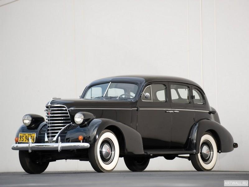 Oldsmobile Six Touring Sedan 1936, 27x20 см, на бумагеOldsmobile<br>Постер на холсте или бумаге. Любого нужного вам размера. В раме или без. Подвес в комплекте. Трехслойная надежная упаковка. Доставим в любую точку России. Вам осталось только повесить картину на стену!<br>