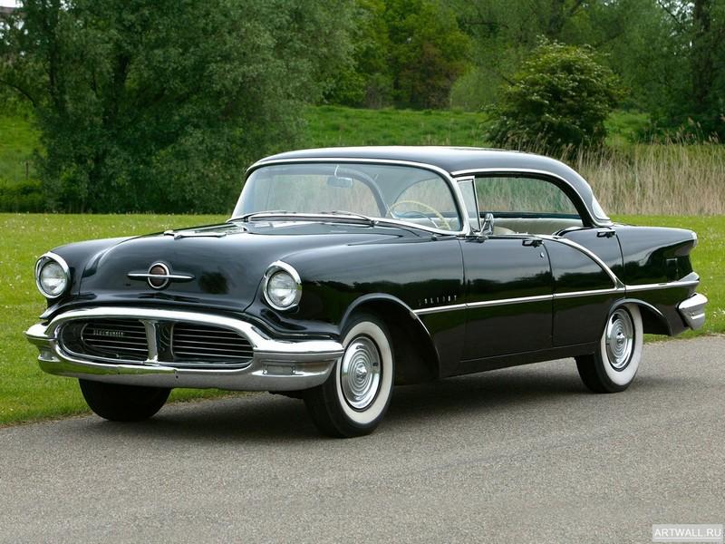 Постер Oldsmobile Super 88 Holiday Sedan 1955, 27x20 см, на бумагеOldsmobile<br>Постер на холсте или бумаге. Любого нужного вам размера. В раме или без. Подвес в комплекте. Трехслойная надежная упаковка. Доставим в любую точку России. Вам осталось только повесить картину на стену!<br>