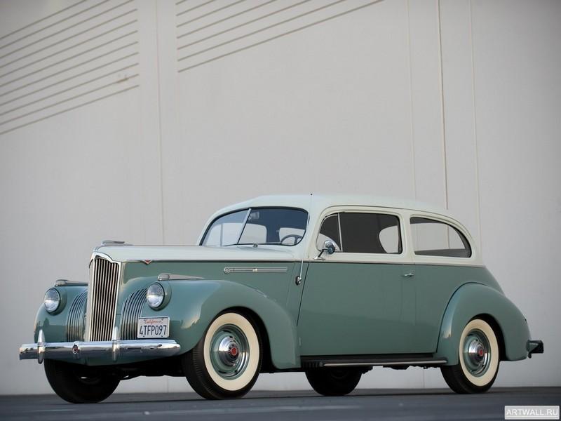 Постер Packard 110 2-door Touring Sedan 1941, 27x20 см, на бумагеPackard<br>Постер на холсте или бумаге. Любого нужного вам размера. В раме или без. Подвес в комплекте. Трехслойная надежная упаковка. Доставим в любую точку России. Вам осталось только повесить картину на стену!<br>