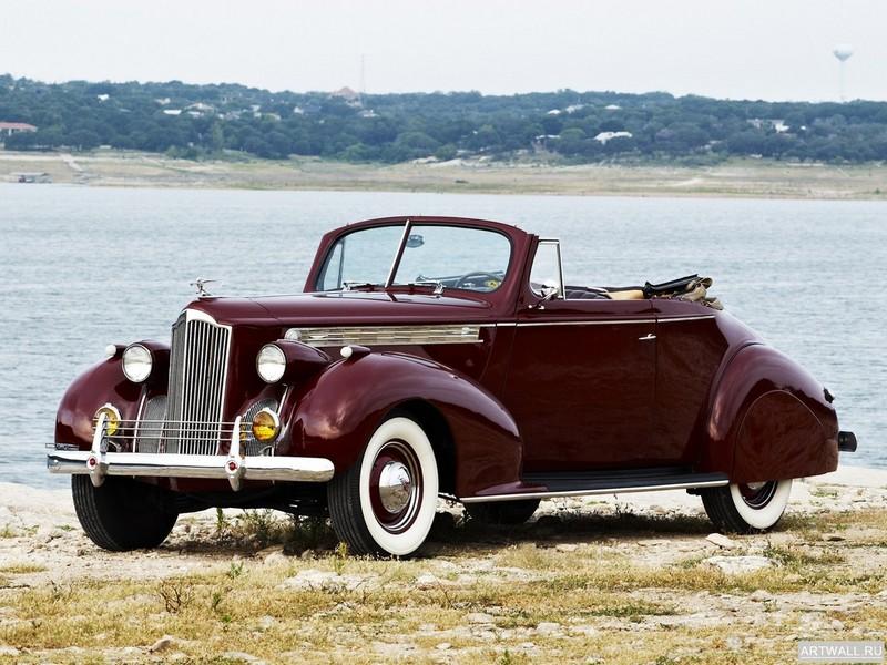 Packard 120 Convertible Coupe 1940, 27x20 см, на бумагеPackard<br>Постер на холсте или бумаге. Любого нужного вам размера. В раме или без. Подвес в комплекте. Трехслойная надежная упаковка. Доставим в любую точку России. Вам осталось только повесить картину на стену!<br>