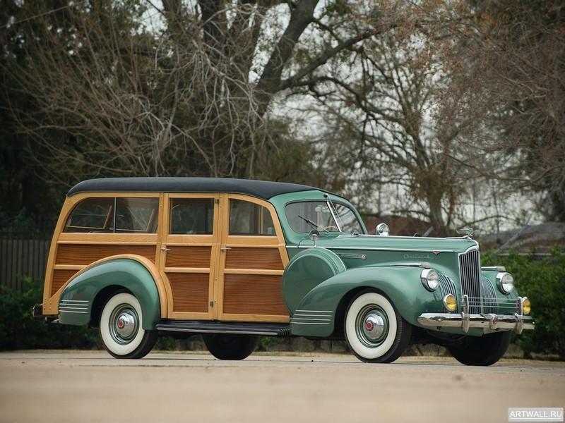 Постер Packard 120 Deluxe Station Wagon 1941, 27x20 см, на бумагеPackard<br>Постер на холсте или бумаге. Любого нужного вам размера. В раме или без. Подвес в комплекте. Трехслойная надежная упаковка. Доставим в любую точку России. Вам осталось только повесить картину на стену!<br>