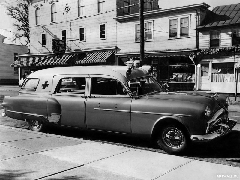 Постер Packard 300 Ambulance by Henney (2413-5194) 1951, 27x20 см, на бумагеPackard<br>Постер на холсте или бумаге. Любого нужного вам размера. В раме или без. Подвес в комплекте. Трехслойная надежная упаковка. Доставим в любую точку России. Вам осталось только повесить картину на стену!<br>