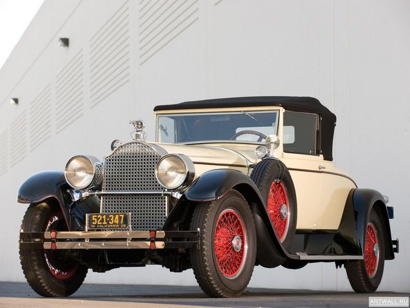 Постер Packard Custom Eight Convertible Coupe by Dietrich 1928, 27x20 см, на бумагеPackard<br>Постер на холсте или бумаге. Любого нужного вам размера. В раме или без. Подвес в комплекте. Трехслойная надежная упаковка. Доставим в любую точку России. Вам осталось только повесить картину на стену!<br>